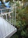 zábradlí balkonu, ocel + žárový zinek